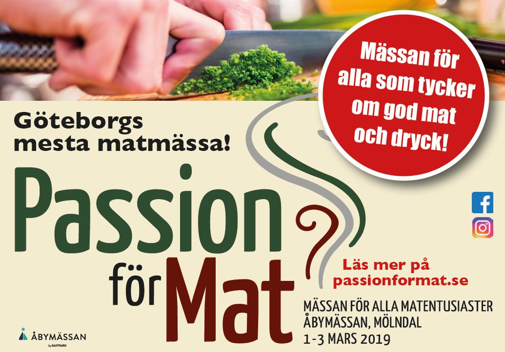 Matfest Annons 2018 Passion för Mat