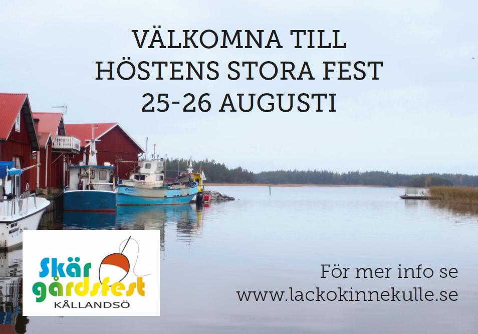Matfest Annons 2018 Skärgårdsfest