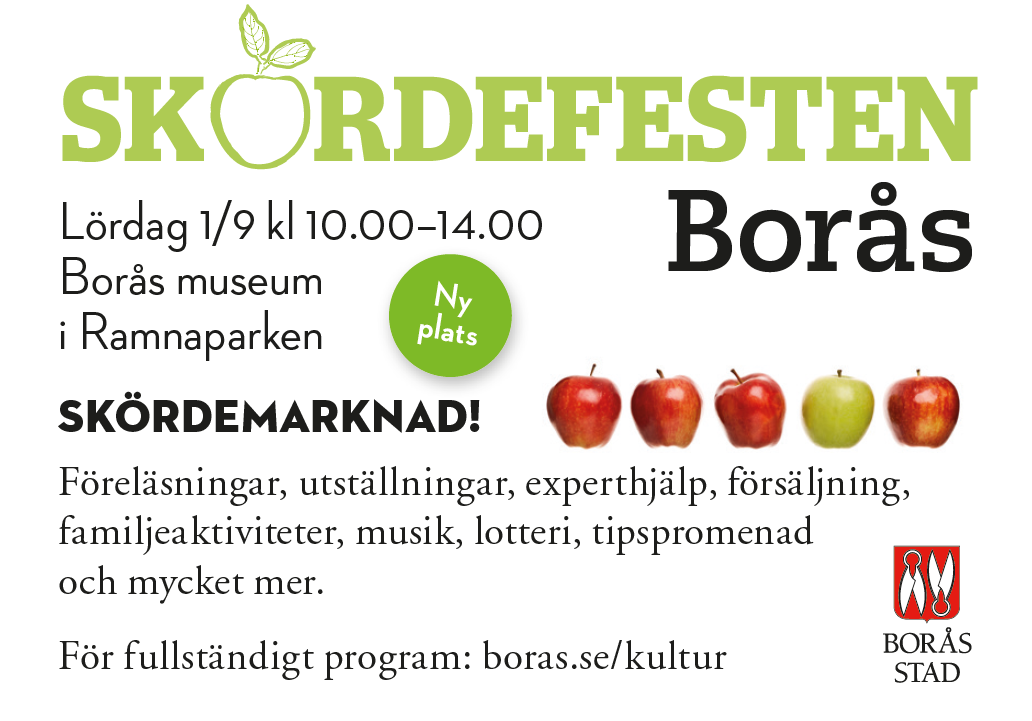 vMatfest Annons 2018 Skördefesten Borås